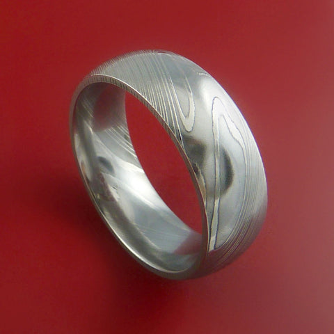 uk ring and rings the in silver wedding steel p hammered