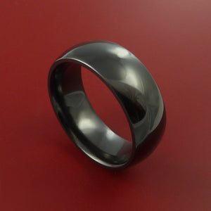 Black Ceramic Ring Durable Custom Made Ring