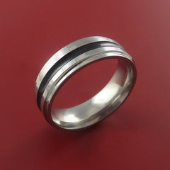Titanium Band Custom Color Design Ring Any Size 3 to 22 Any Color - Stonebrook Jewelry  - 2
