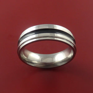 Titanium Band Custom Color Design Ring Any Size 3 to 22 Any Color