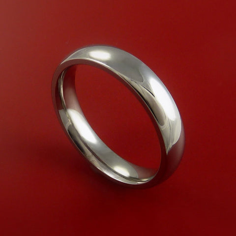 Titanium Wedding Band Engagement Rings Made to Any Sizing 3 to 22