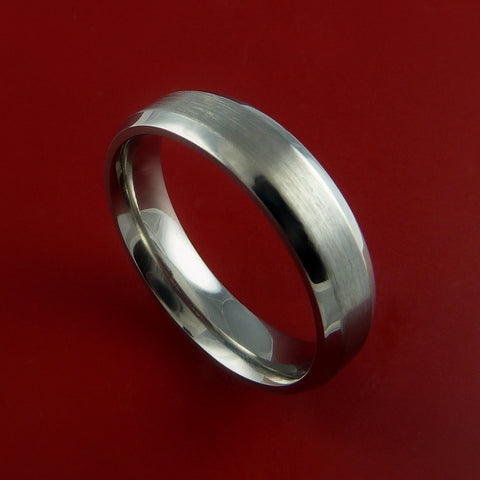 Titanium Ring Narrow Band Classic Style Custom Made to Any and Width Size 3-22