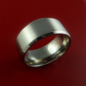 Wide Titanium Ring Custom Made Band