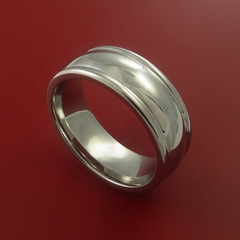 Cobalt Chrome Ring Custom Made Band