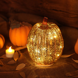 Pumpkins LED Light with Timer For Home Decor