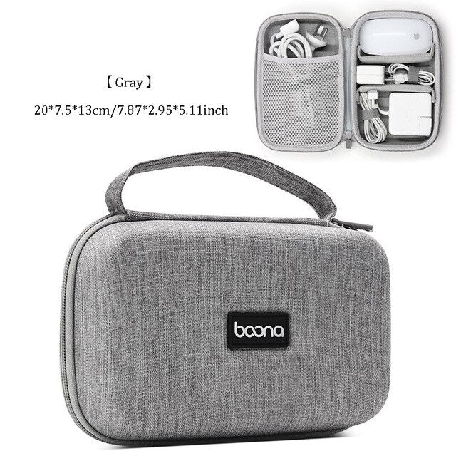 Travel Cable Bag USB,Charger,Earphones