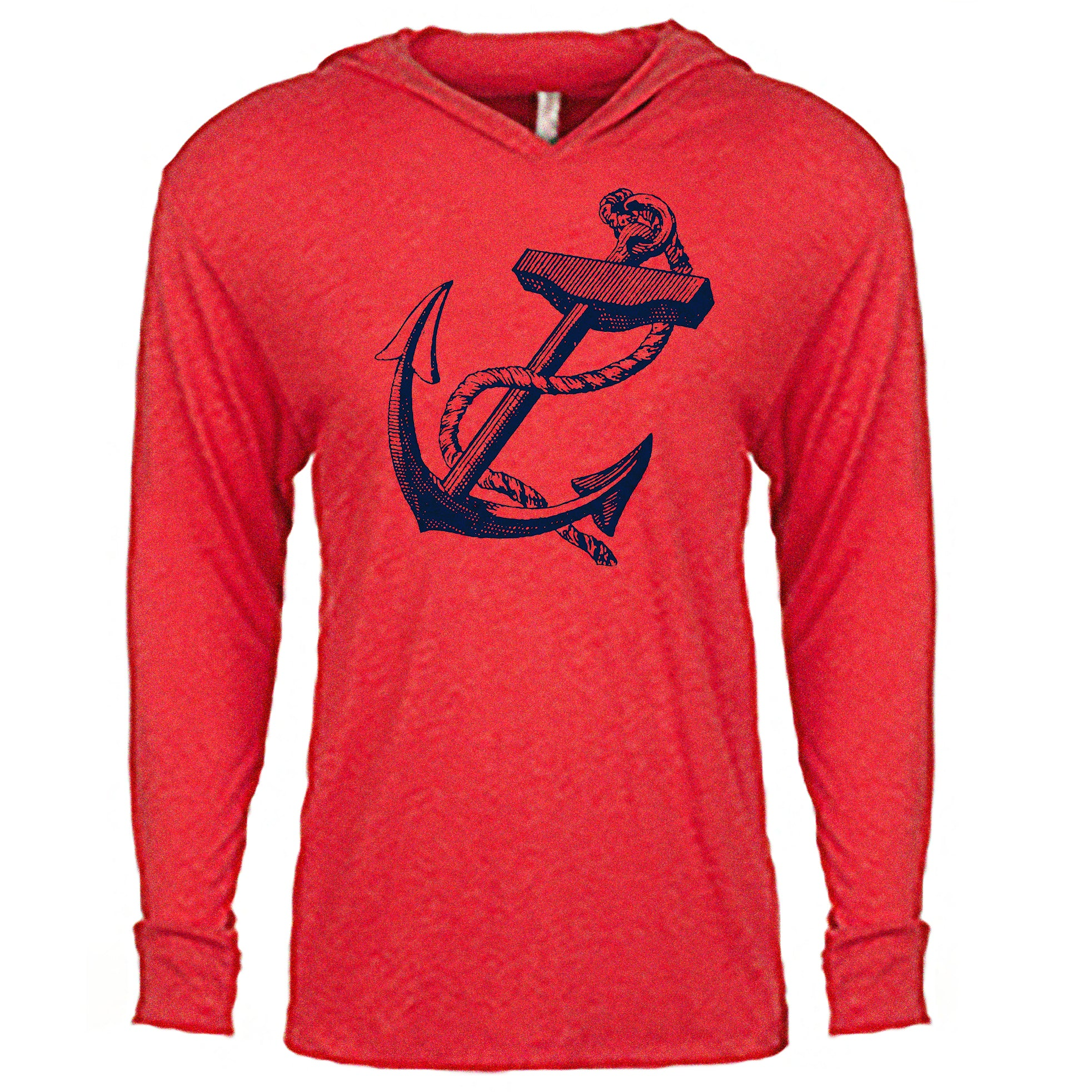 Anchor Lightweight Hoodie - Red
