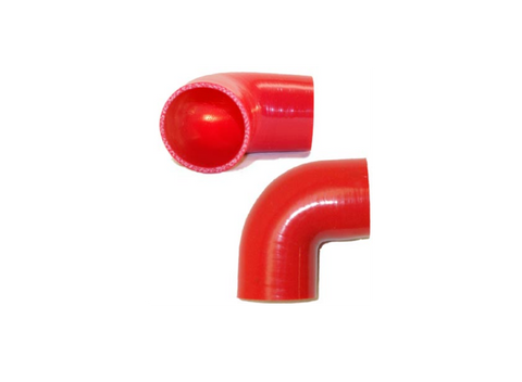 "2.5"" 90° Silicone Elbow"