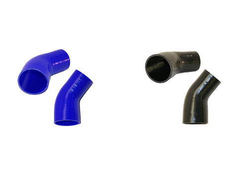 "2.5"" to 1.75"" 45° Silicone Reducer"