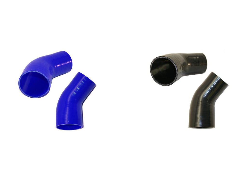 "3.25"" to 2.5"" 45° Silicone Reducer"