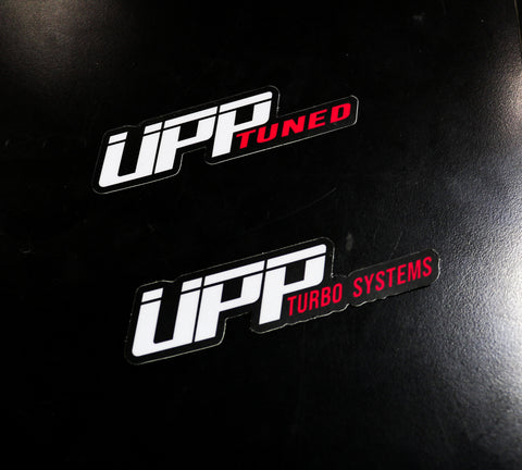 UPP Turbo Systems Stickers