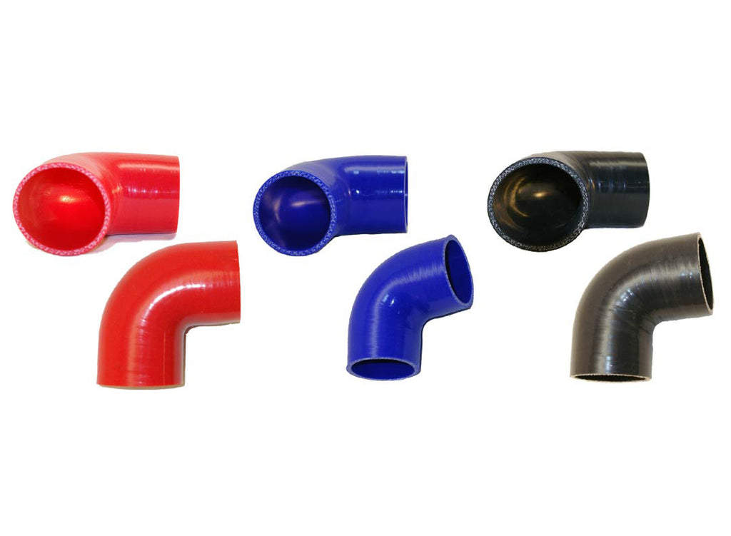 "3.25"" 90° Silicone Elbow"