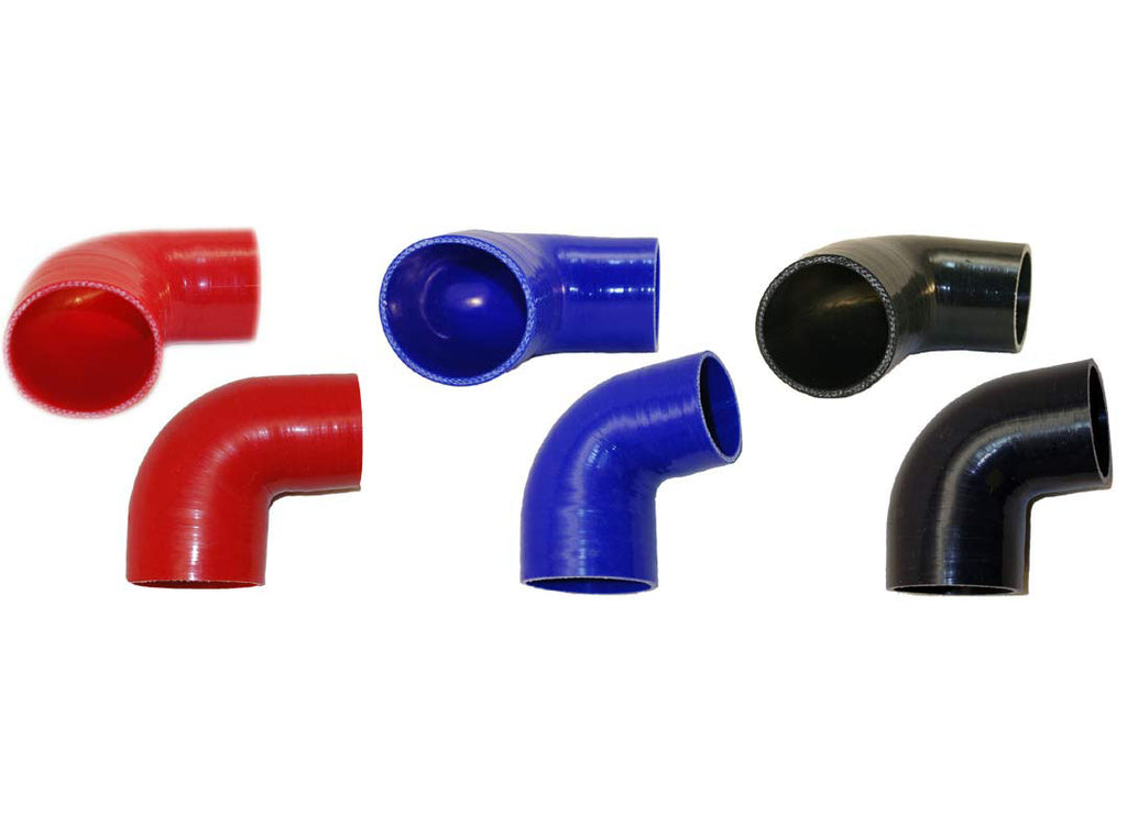 "2.5"" to 2.25"" 90° Silicone Reducer"