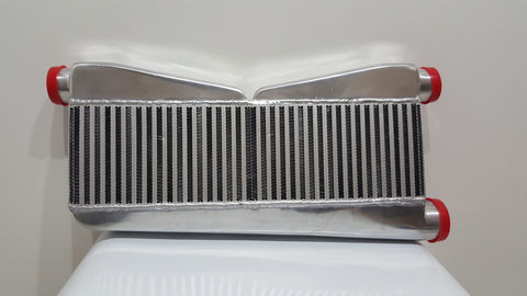 "Intercooler -27""x16.5""x3.5"" - (2x) 2.5"" Inlet/ 3"" Outlet"