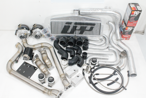 UPP Charger AWD Twin Turbo Kit 2011-2014