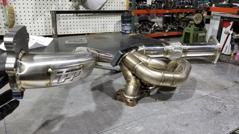 UPP Miata 1.6L Turbo Manifold w/Down Pipe