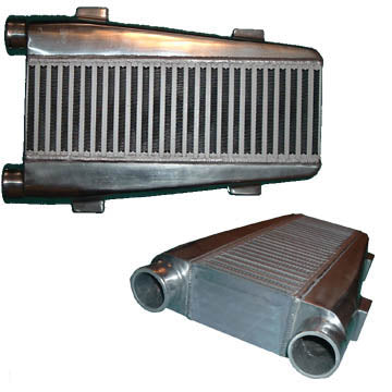 "Intercooler - 19.75x12x3.5 - 2.5"" Inlet/Outlet (Same Side)"