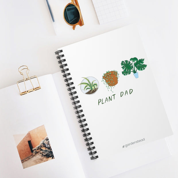 plant dad notebook