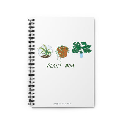 plant mom notebook