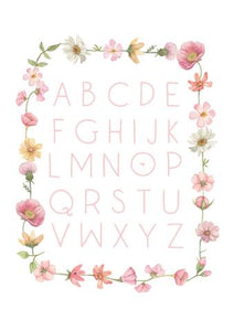 ABC Poster - Falling Flowers