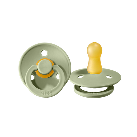 BIBS Pacifier Duo - Size Two - Sage