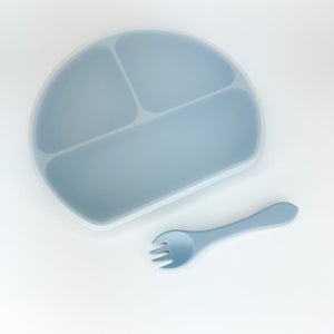 Dusty Blue plate set