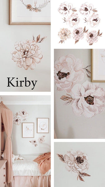 Kirby Peony Wall Decals