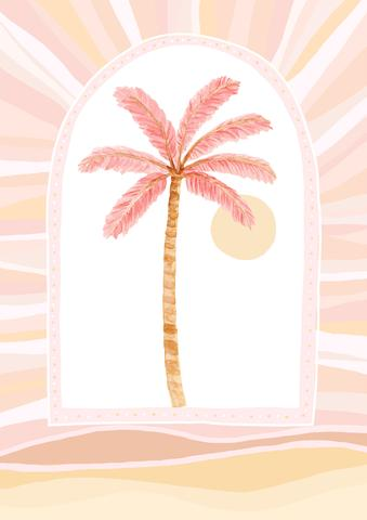 Palm Rays - Pink