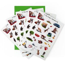 Load image into Gallery viewer, dog lover birthday card, multipack of animal note cards