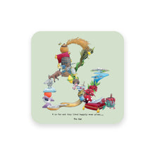 Load image into Gallery viewer, personalised gift idea alphabet coaster & symbol ampersand couples gift idea