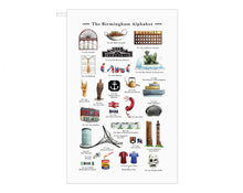 Load image into Gallery viewer, Birmingham Tea Towel