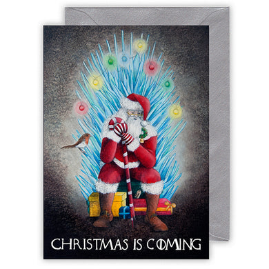 funny christmas card for game of thrones fan