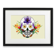 Load image into Gallery viewer, sugar skull art print
