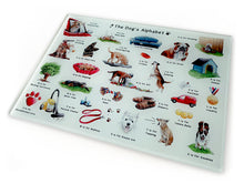 Load image into Gallery viewer, dog momma gift idea - tempered glass cutting board