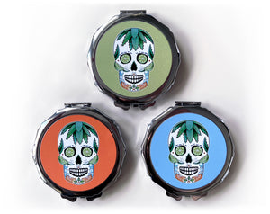 tequila cocktail compact mirrors