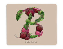 Load image into Gallery viewer, letter b personalised alphabet placemat gift idea for family