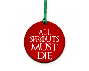 funny sprout christmas tree decoration