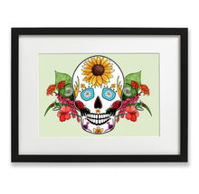 Load image into Gallery viewer, mexican skull print