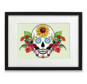 mexican skull print