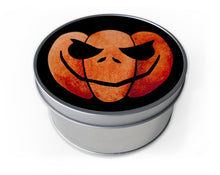 Load image into Gallery viewer, jack-o-lantern halloween storage tin