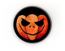 Load image into Gallery viewer, halloween pumpkin candy tin