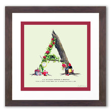 Load image into Gallery viewer, children's alphabet letter print