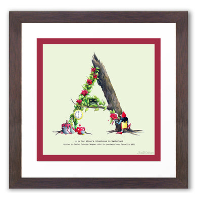 children's alphabet letter print