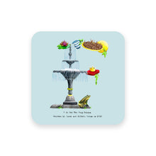 Load image into Gallery viewer, personalised gift idea alphabet coaster letter f