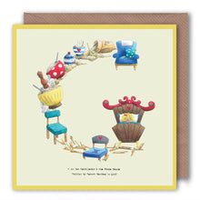 Load image into Gallery viewer, letter-g-birthday-card-for-children