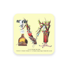 Load image into Gallery viewer, personalised gift idea alphabet coaster letter m