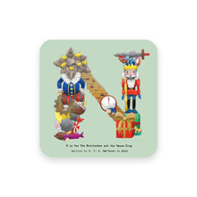 Load image into Gallery viewer, personalised gift idea alphabet coaster letter n