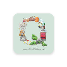 Load image into Gallery viewer, personalised gift idea alphabet coaster letter q