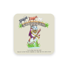 Load image into Gallery viewer, personalised gift idea alphabet coaster letter t