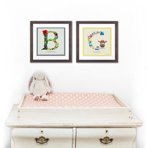 personalised nursery wall art